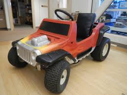power wheels jeep barbie from barbie to badass the make lab rats transform a power wheels