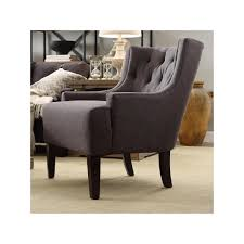 furniture tufted barrel wingback chairs with vase and metal