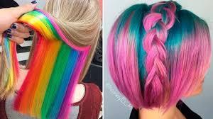 New Colors Hermosos Peinados De Moda Tintes De Colores 2017 2 New