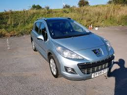 peugeot 207 new peugeot 207 sw 1 6l deisel estate brand new mot 1 year no advisory