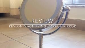 review revlon magnifying makeup mirror youtube