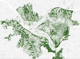 Pittsburgh Zip Code Map by Pittsburgh Trees U003e Portland Trees The 412 May 2014