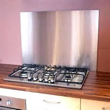 plaque credence cuisine plaque adhacsive inox cuisine plaque inox autocollante ides credence