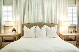 curtain over bed bedroom curtains behind bed fancy hanging curtains over bed ideas