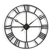 creative clocks creative design black wall clock impressive dekad wall wall shelves