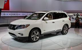 nissan pathfinder 2014 nissan pathfinder hybrid photos and info u2013 news u2013 car and driver