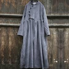 aliexpress com buy johnature 2017 autumn women corduroy dresses