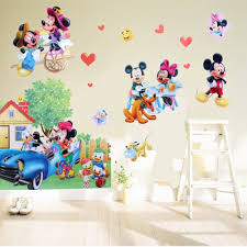 online shop mickey minnie mouse happy life wall stickers vinyl art online shop mickey minnie mouse happy life wall stickers vinyl art