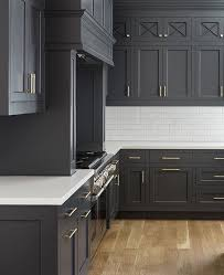 Best  Dark Cabinets White Backsplash Ideas On Pinterest White - Kitchen photos dark cabinets