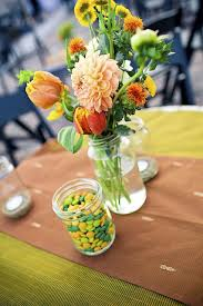 Diy Flower Arrangements Peach Yellow Green Diy Flower Arrangements Elizabeth Anne