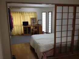 mini fridge our kyoto year looking into the japanese room our bedroom from the living room which is separated by shoji japanese sliding doors