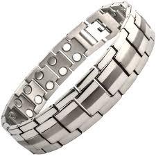 bracelet magnetic images Premium quality mens titanium magnetic bracelet arthritis therapy jpg