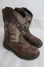 ariat s boots size 12 ariat leather boots unisex shoes ebay