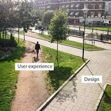 experience design design vs user experience pretty fast