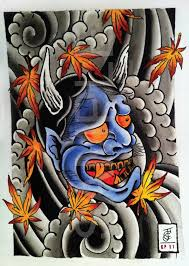 100 japanese devil mask tattoo designs japanese tattoo