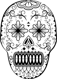 dia de los muertos coloring pages wednesday november 2 2011