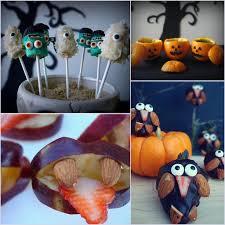 healthy halloween recipe round up