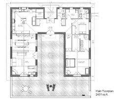 U Shaped House Plans With Courtyard 2 Bedroom U Shaped Floor Plans With Courtyard Carnaby Creek