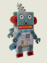 lantern paper craft kit set robot android for