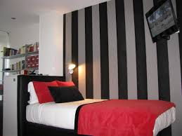 red and black bedroom wall ideas modern teen design walls idolza