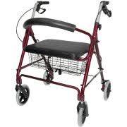 senior walkers with seat medline wide heavy duty rollator walker walmart