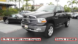 2010 used dodge ram 1500 slt 4x4 cab for sale in san diego at