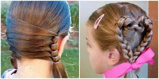 cute girl hairstyles diy diy little girls hairstyles