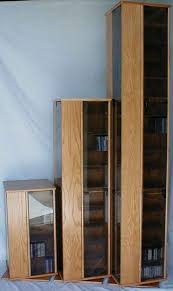 Cd And Dvd Storage Cabinet With Doors Oak Finish How To Make Dvd Storage Cabinet U2014 Liberty Interior