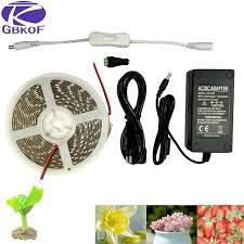 12v dc led grow lights dc 12v 5m plant grow light waterproof smd5050 hydroponic systems led