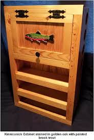 Fishing Rod Storage Cabinet Fly Tying Tables Fly Tying Desks Fly Rod Racks Fly Tying