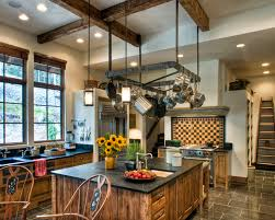 home accessories amazing pot racks with glass front cabinets and