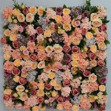 luxury flowers 2 4m x 2 4m luxury flower backdrop artifical silk wedding flower