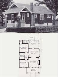 small retro house plans 1920s small vintage bungalow cottage the clifton 1923 standard