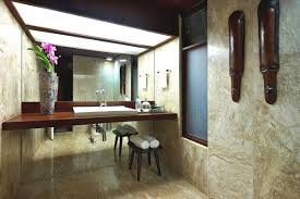 of tropical modern bathroom