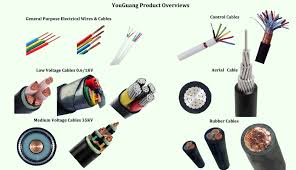 different types of electric wire and cable 16mm 10mm electrical