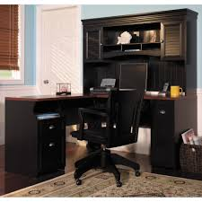 Black Corner Desk With Hutch by Corner Desk With Hutch For Home Office Furniture Definition Pictures