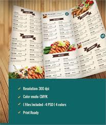 elegant menu template vector free downloadmenu design template