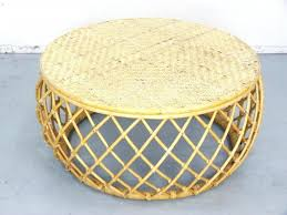 round rattan side table side table round wicker side table rattan coffee creative design