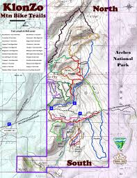 Midway Utah Map by Moab Mountain Biking Trails Moab Mountain Bike Trail Information