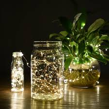 Christmas Lights In A Vase String Lights Oak Leaf 9 8 Ft 30 Leds Starry Fairy Lights