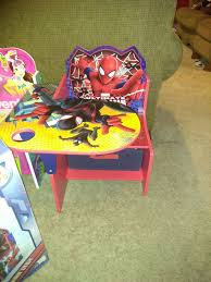 desk for 6 year old spider man desk 2 6 year old baby kids in stockton ca offerup