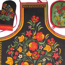 kitchen set russian ornaments russian home textile home decore