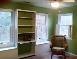Built In Bookshelves With Window Seat Interior Fascinating Picture Of Home Interior Space Room