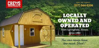 Springfield Barn Sheds Springfield Illinois Crews Portable Buildings