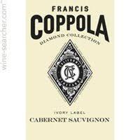 francis coppola diamond collection 2012 francis ford coppola diamond collection ivory label cabernet