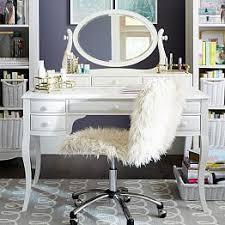 Desk And Vanity Combo Teen Bedroom Vanities U0026 Vanity Sets Pbteen