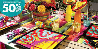 themed party supplies caliente theme party supplies party city