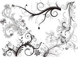 35 free vector flourishes and swirls for inspiration website