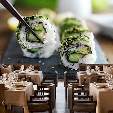 cuisine decorative modern dining wallpaper japanese sushi cuisine murals for shopping