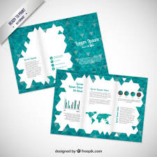 triangle pattern freepik brochure with triangles pattern vector free download